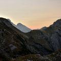 Abendfärbung über dem Karwendel