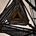 Der Käflingsberg Turm von unten