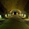 Der Abgang zum alten Weinkeller