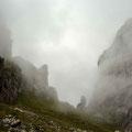 Die Bogartenlücke im Nebel