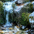Wasserrinnsal in der Faulen Eng