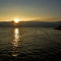Sonnenaufgang am Strand von Sellin