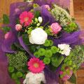 Merci à mes élèves LocquéKlic pour ces fleurs...