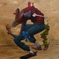 Petit Lapin. Acrylique sur toile. 25/33 cm.