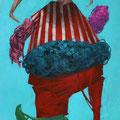 L'amour. Acrylique sur toile. 24/33 cm. 2015