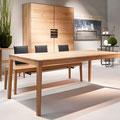Kollektion Linum: Tisch, Stühle und Schrank