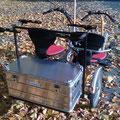 Fun2Go Umbau mit Rollstuhl-Aufnahme