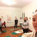 Allievi corso Yoga Trieste 2015, Casa della Cultura Dr. David Ferriz O.