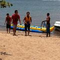 マリンスポーツ バナナボート