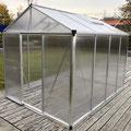 Gewächshaus: Premium, 225 x 299 cm, 10 mm Doppelstegplatten