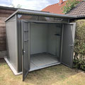 Biohort: Metallgerätehaus AvantGarde, Größe L (260 x 220 x 228 cm)