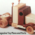 WOOD Magazine Toy Plans & parts