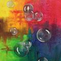 © Kugeln aus Seife II     Acrylbild   80x60cm   500€