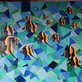 © Skaleidoskop 100x100cm  Ölbild  1.180€