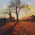 ©  An einem frühen Novembermorgen   Öl auf Leinwand   50x70cm    1.800€