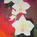 © Orchideen   Ölbild   206x100cm     4000€