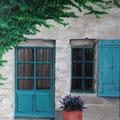 © Hauseingang in der Altstadt von Vaison la Romaine    in Öl   50x70cm     1.750€