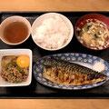 新川小町食堂/塩さば定食