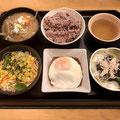新川小町食堂/ベーコンエッグ定食