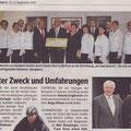 Artikel in den Bezirksblättern 2007 / Ausgabe 37