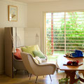 Roma - midcentury modern table, armchairs and sofa