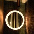 Berlino, Gleimstrasse 52 - Interno52: specchio retroilluminato anni '60