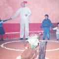 partizipatives und rituelles Theater mit indigenen Kindern