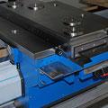 Support in Sonderbauform mit vertieften Nullpunktspannsystem für unterschiedliche Bearbeitungssysteme.