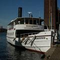 Das Schiff nach Mariefred.