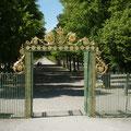 Eingang zum Schlossgarten.