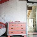 """Weiße Vintage Eichendielen """"Loft"""" im Kinderzimmer"""