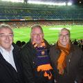 Nach dem Handball ab zum Fussball: Barça vs. Racing Santander mit Coltorti 4:0