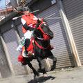 "Komuro Sengen Jinja,An autumn festival ""Yabusame"""