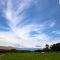 雲ものびやかに