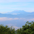 薙鎌神社から諏訪湖〜御嶽山