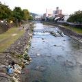 川が、やっぱり透明。宵祭をまちます。