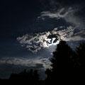 スーパームーン、深夜にMt.Shasta5合目へ。大きな幾つもの流れ星、月に照らされた山、すごかった。