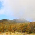 山の天気は変わりやすい。