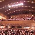 1200名の高校生に来ていただきました。