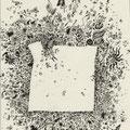 Mikroben (2003) Fineliner auf Papier 21,0 x 29,7