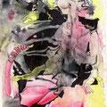 Rivalen (2000) Wasserfarbe/ Fineliner auf Papier