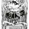 Black Schpeidi (2010) Tusche auf Papier 15 x 21
