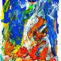Alle meine Monster (2009) Acryl/ Tusche auf Papier