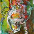 Fang den Fisch (2006) Acryl auf Leinwand
