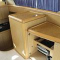 Interior de la Ferretti 460