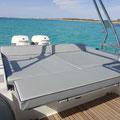 Solarium popa alquiler barco Sacs S33