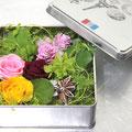 2014年 伊勢丹浦和店春の手作り作品展出展 プリザーブドフラワー