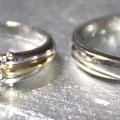 新品仕上げとサイズ直で見違える婚約指輪と結婚指輪