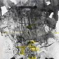 """""""Diatónico 2"""". Tinta sobre papel. 30 x 40 cm. 2013."""