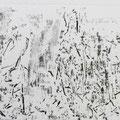 """""""Negativo 1"""" Monotipo. 32 x 70 cm. 2013."""